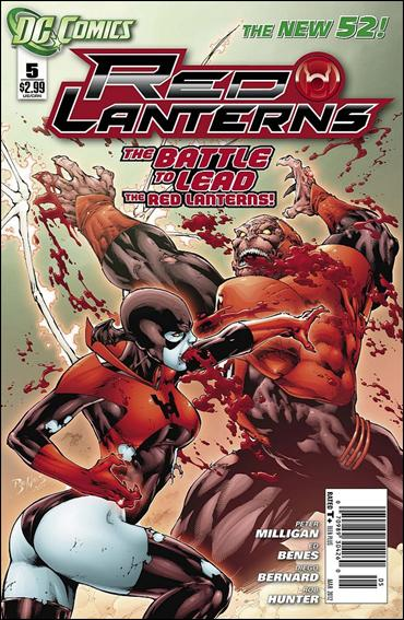 Red Lanterns 5-A by DC