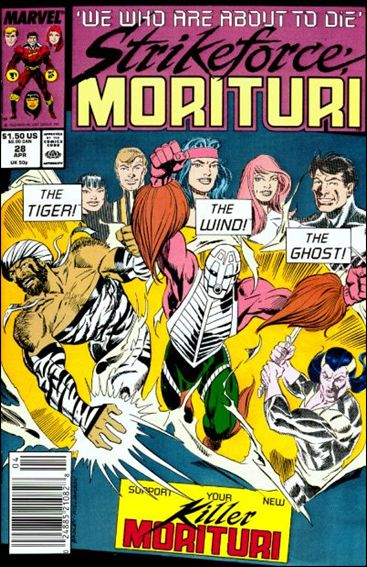 Strikeforce: Morituri 28-A by Marvel