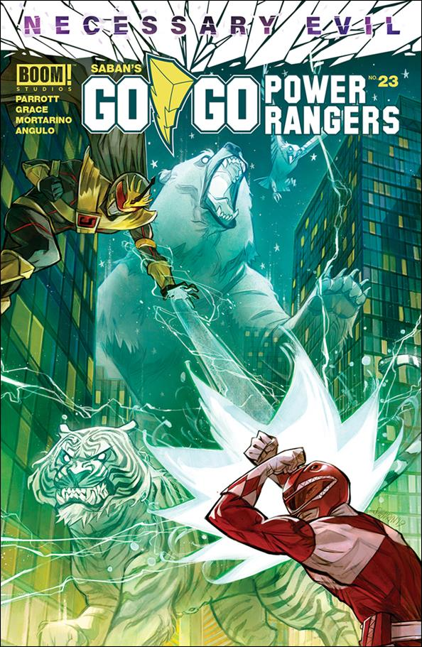 Saban's Go Go Power Rangers 23-A by Boom! Studios