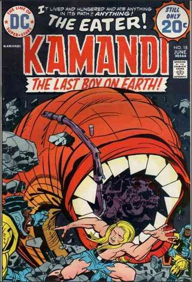Kamandi, the Last Boy on Earth 18-A by DC