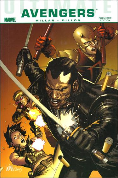 Ultimate Comics Avengers: Blade vs. the Avengers 1-A by Marvel