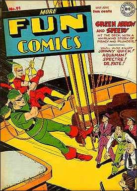 More Fun Comics 91-A by DC
