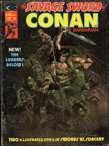 Savage Sword of Conan (1974) 6-A by Marvel
