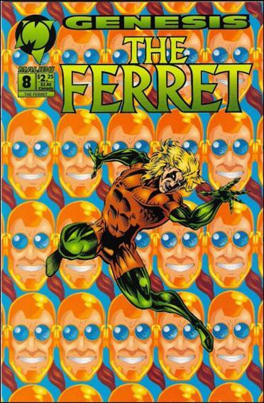 Ferret (1993) 8-A by Malibu