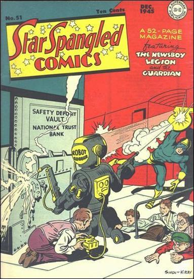 Star Spangled Comics (1941) 51-A by DC
