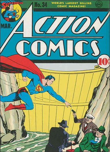 Action Comics (1938) 34-A by DC