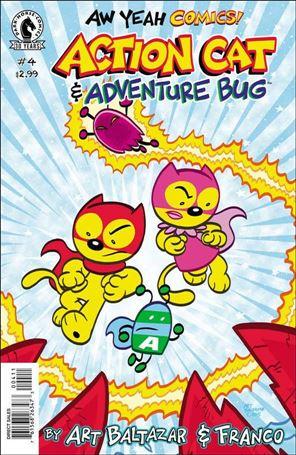 Aw Yeah Comics: Action Cat & Adventure Bug 4-A