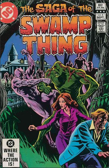 Saga of the Swamp Thing 5-A by DC