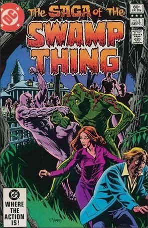 Saga of the Swamp Thing 5-A