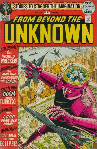 From Beyond the Unknown 16-A by DC