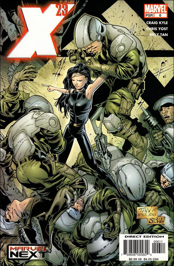 X-23 (2005) 6-A by Marvel