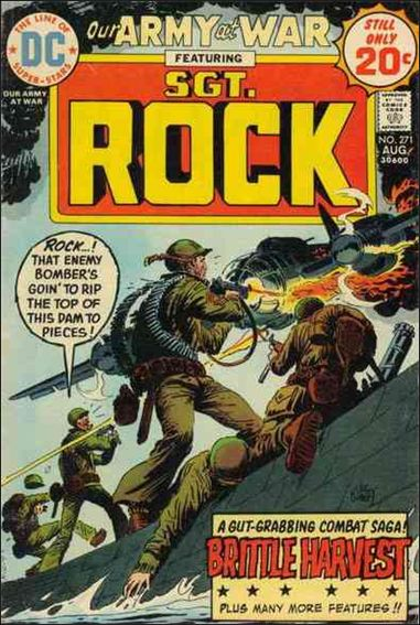 Our Army at War (1952) 271-A by DC