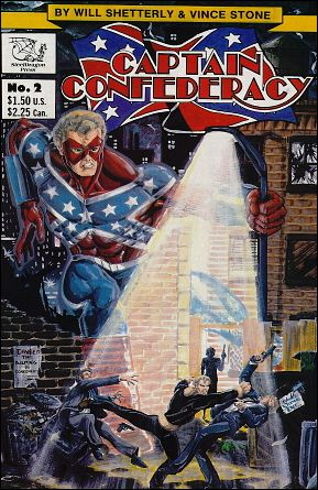 Captain Confederacy (1986) 2-A by SteelDragon Press