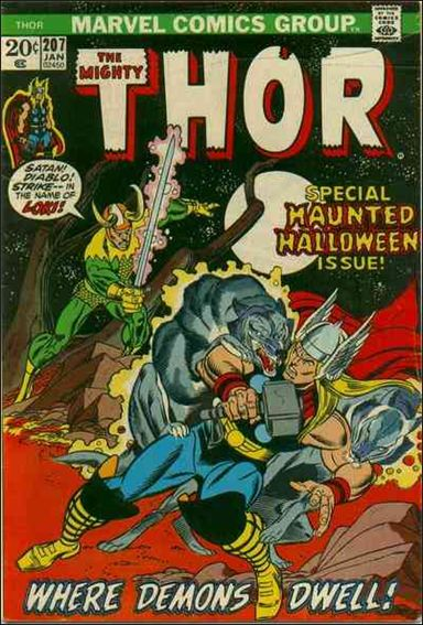 Thor (1966) 207-A by Marvel