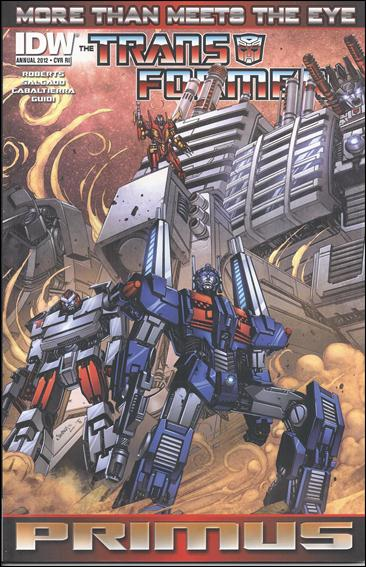Transformers: More Than Meets the Eye Annual 2012-C by IDW