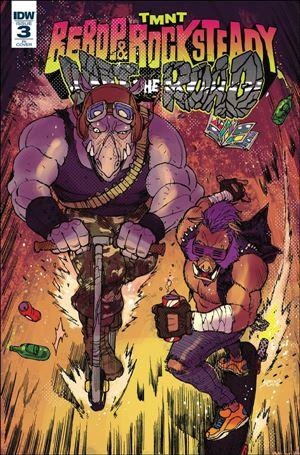 Teenage Mutant Ninja Turtles: Bebop & Rocksteady Hit The Road 3-C