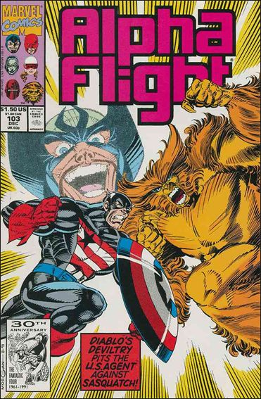 Alpha Flight (1983) 103-A by Marvel