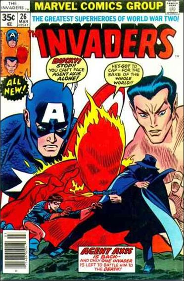 Invaders (1975) 26-A by Marvel