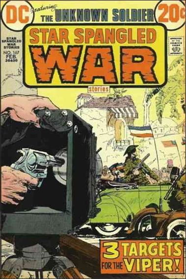 Star Spangled War Stories (1952) 167-A by DC
