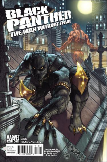 Black Panther: The Man Without Fear 513-A by Marvel