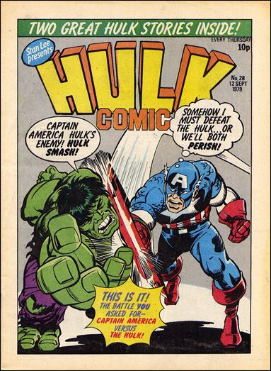 Hulk Comic (UK) 28-A by Marvel UK