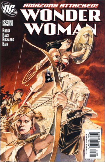 Wonder Woman (1987) 223-A by DC