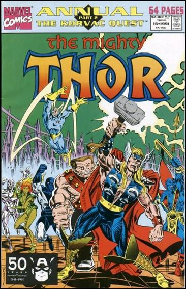 Thor Annual  16-A by Marvel