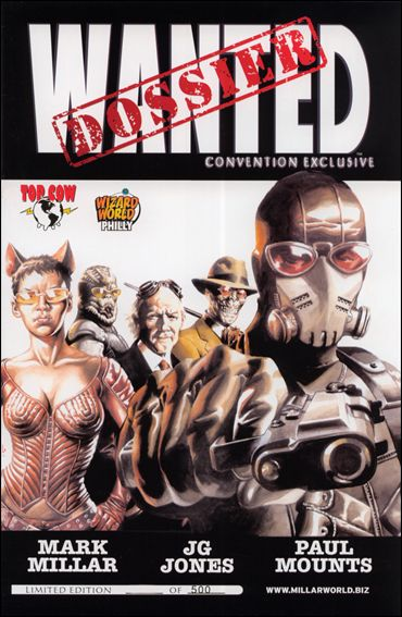 Wanted Dossier 1-B by Top Cow