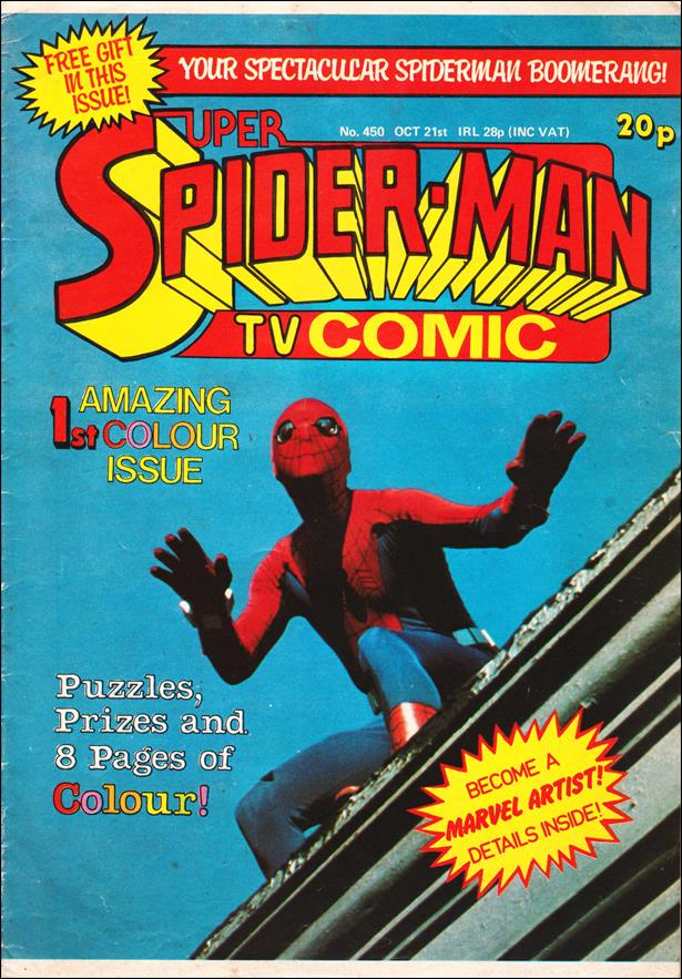 Spider-Man: Comics Weekly (UK) 450-A by Marvel UK