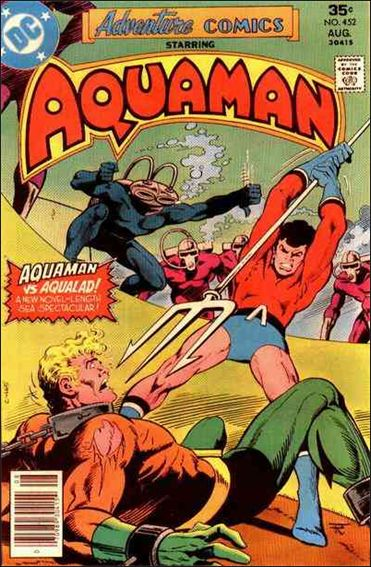 Adventure Comics (1938) 452-A by DC
