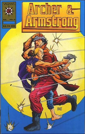 Archer & Armstrong (1992) 0-B by Valiant