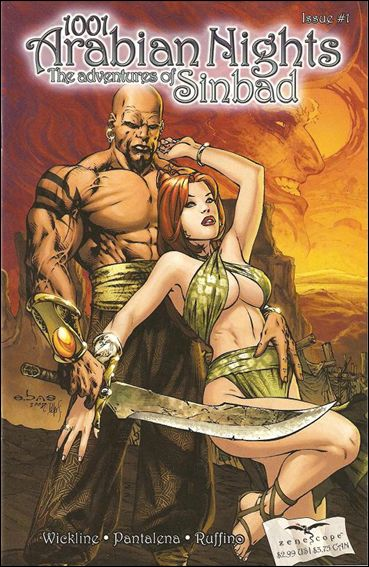 1001 Arabian Nights: The Adventures of Sinbad 1-A by Zenescope Entertainment