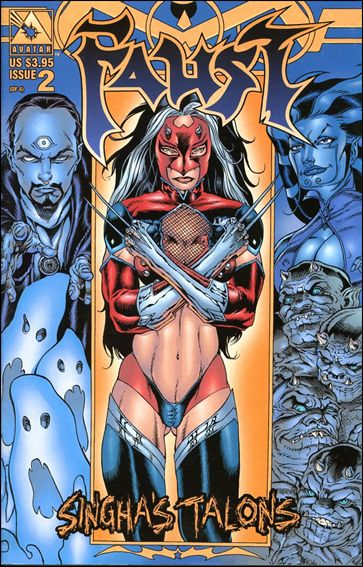 Faust: Singha's Talons  2-B by Avatar Press