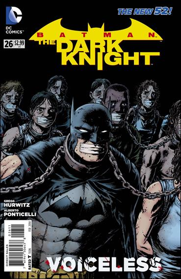 Batman: The Dark Knight (2011/11) 26-A by DC