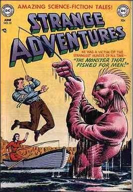 Strange Adventures (1950) 21-A by DC