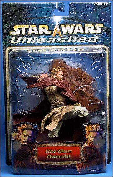 Star Wars: Unleashed Obi-Wan Kenobi (Episode II) by Hasbro