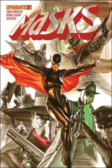 Masks 8-A by Dynamite Entertainment