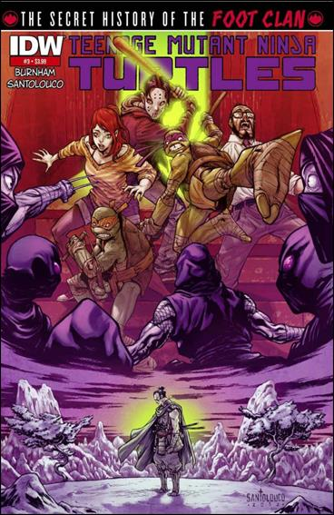 Teenage Mutant Ninja Turtles: The Secret History of the Foot Clan 3-D by IDW