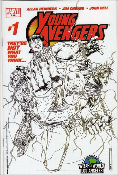 Young Avengers (2005) 1-C by Marvel