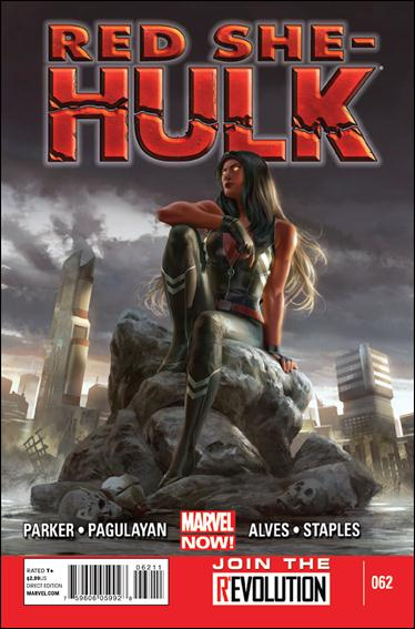 Red She-Hulk 62-A by Marvel