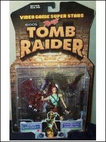 Video Game Superstars (Series 1) Tomb Raider (Lara Croft) by Toy Biz