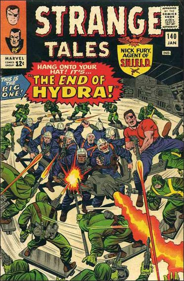 Strange Tales (1951) 140-A by Marvel