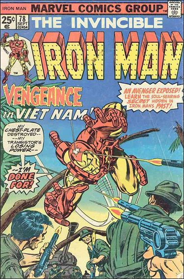 Iron Man (1968) 78-A by Marvel