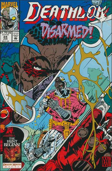 Deathlok (1991) 24-A by Marvel