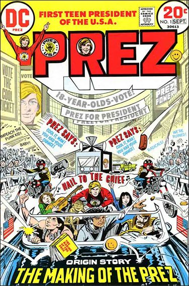 Prez (1973) 1-A by DC