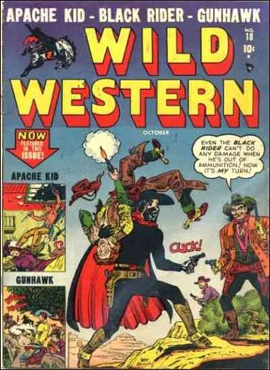 Wild Western 18-A by Marvel