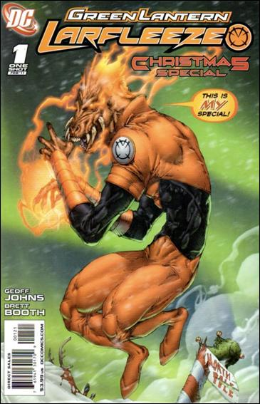 Green Lantern: Larfleeze Christmas Special 1-B by DC