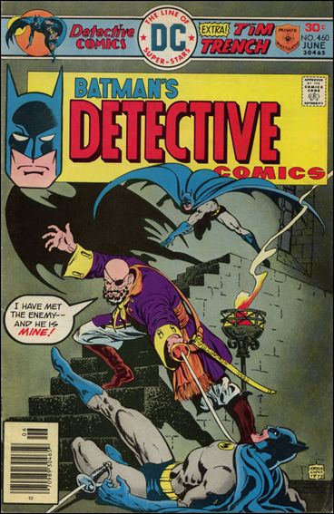 Detective Comics (1937) 460-A by DC