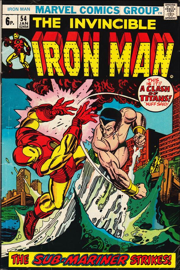 Iron Man (1968) 54-B by Marvel