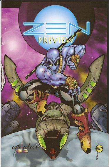 Zen Preview 1-A by Zen Comics